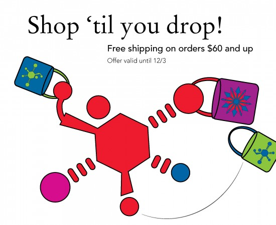 Free shipping on orders $60 and up